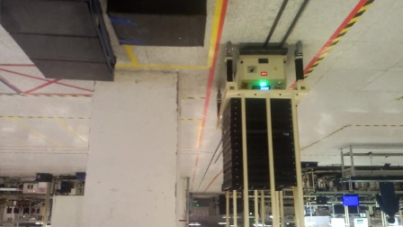 瑞鹏双驱动双向潜伏型AGV在重庆富士康应用案例