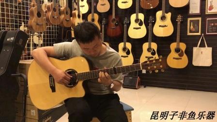 昆明子非鱼乐器 学员弹奏《愿望的樱花》