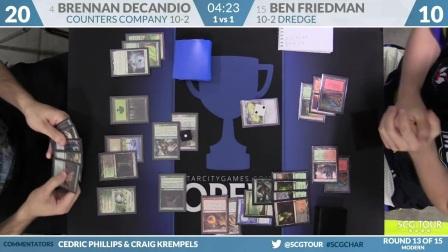 SCGCHAR_-_Round_13B_-_Ben_Friedman_vs_Brennan_DeCandio