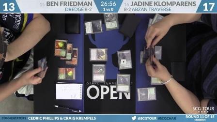 SCGCHAR_-_Round_11_-_Ben_Friedman_vs_Jadine_Klomparens
