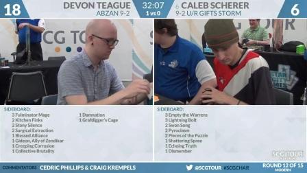 SCGCHAR_-_Round_12_-_Caleb_Scherer_vs_Devon_Teague