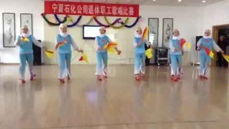 宁夏石化姐妹花舞蹈《数花-退休谣》