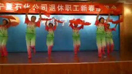 宁夏石化姐妹花舞蹈《去宁夏》
