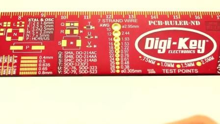 工程师必备神器:PCB尺演示