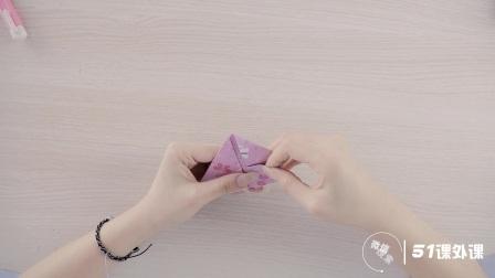 为孩子准备的立体爱心折纸教程,轻松几步就能学会
