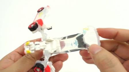 新特罗文萨转变汽车玩具评论