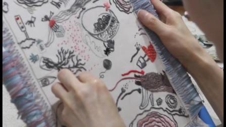 第五届「丰子恺图儿童画书奖」入围作品--作绘者介绍《天衣无缝针》