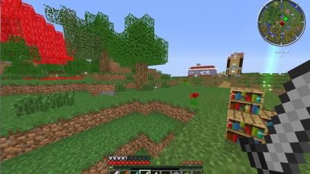 我的世界 Minecraft【绿叶】★模拟大都市★——多模组生存! EP10  无所事事,找事!