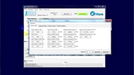 BiSS Reader  软件指导 03:EDS & Error Reporting(英文)