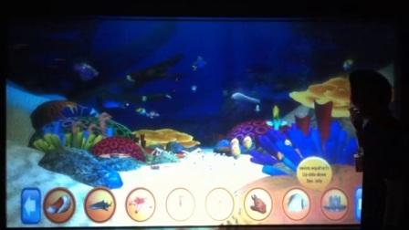 互动游戏鱼缸