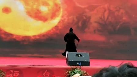 福泉太极宫,武当三丰派第二届演武大会上,陈师海道長演示一一武当九转丹剑。