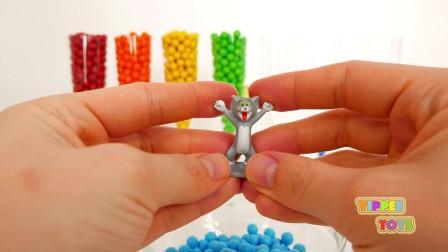 五颜六色的糖果让我们垂涎欲滴