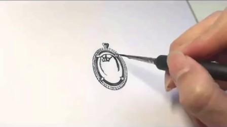 画腻了一板一眼的三视图, 想给自己的设计来点趣味? 献上扎主的手绘一张