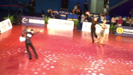 蓝嵋恰恰-2017中国体育舞蹈(上海站)