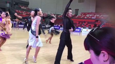蓝嵋-恰恰2017中国体育舞蹈(温州站)