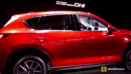 2017款马自达全新CX-5 车展内外实拍