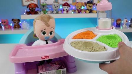 欢乐过家家,动手给小娃娃洗澡,好美的彩虹澡,娃娃开心着呢