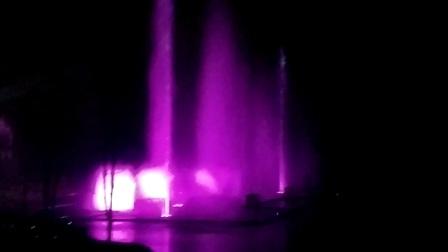 八尔湖大型喷泉