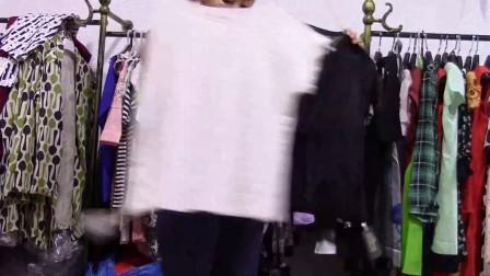 衣格格服饰夏装T恤小衫第67期50件400服装尾货库存折扣批发地摊货源视频