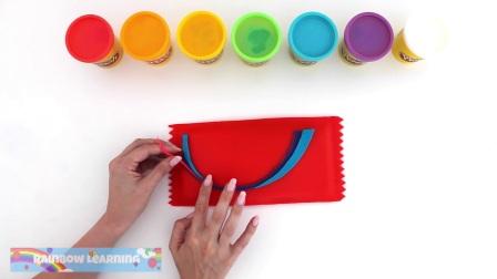 有趣的粘土玩耍,认识颜色