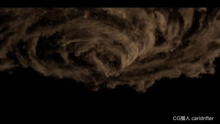 CG猎人模拟悟空传中的龙卷风tornado from wukong