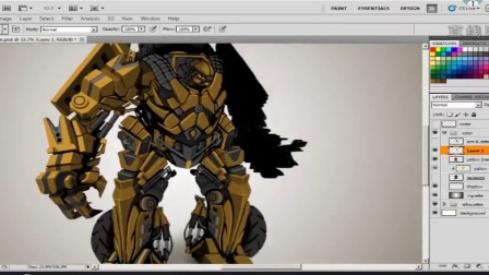 7.增加机器人的其他手臂和细节
