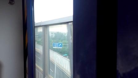天津地铁一号线 华复区间 往刘园方向 复兴门联络线实拍(129编组)