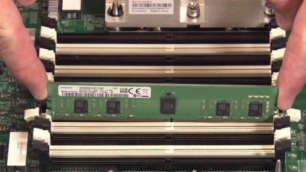 Lenovo ThinkSystem SN550 Install DIMM