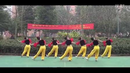周思萍广场舞系列  新疆舞(2014)  背面_标清
