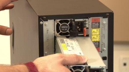 ThinkSystem ST550/ST558 installing hot-swap power supply
