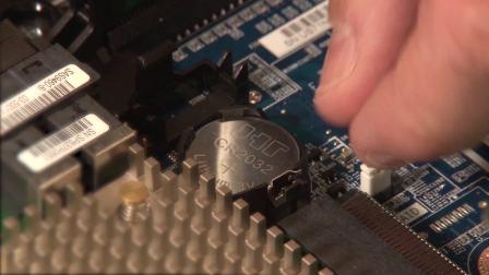 ThinkSystem ST550/ST558 removing CMOS battery