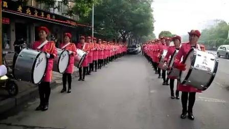 济源燕子军乐队婚庆表演!