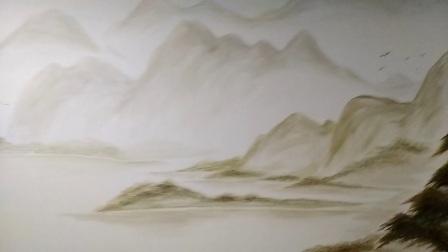 书画家贾光增绘画作品实拍