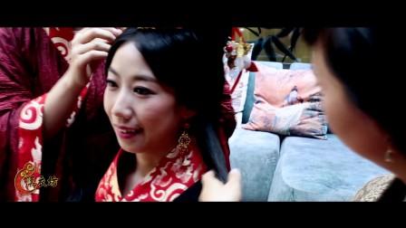 【汉衣坊作品】周礼文化.经典汉式婚礼之汉风格婚礼. 新娘个性化茶艺展示