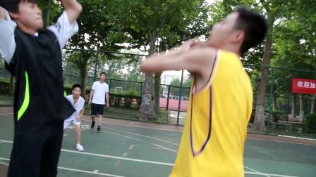 篮球比赛 激情四射