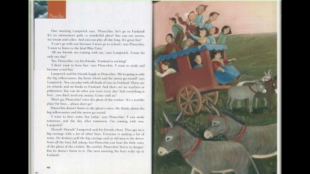 美文中级 匹诺曹  第五章 第六章