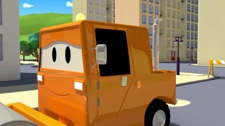 多功能卡车变身救助好朋友,有趣的变形金刚给你点一个赞