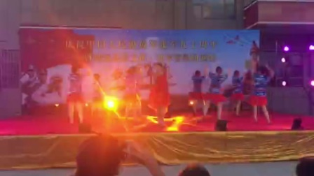 靖远县梦之蓝舞蹈  再唱为了谁
