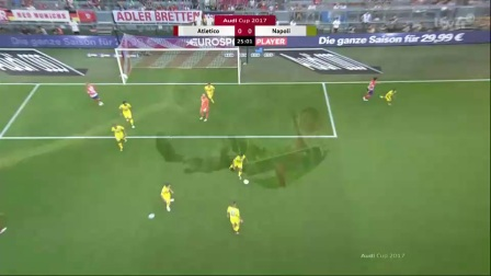 Atletico Madrid vs Napoli – Highlights
