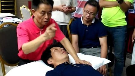 龙氏正骨视频  侧卧摇肩法2、-主讲:段俊峰教授43