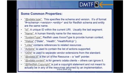 RedfishTM Model Common Properties