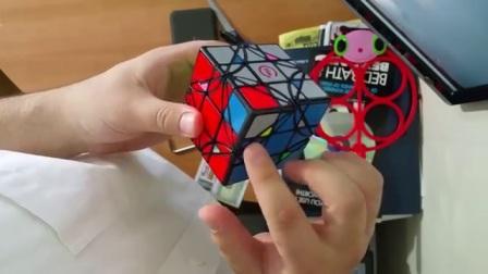 方是超级转角特殊情况处理 3x3x3 Dreidel Parity - YouTube