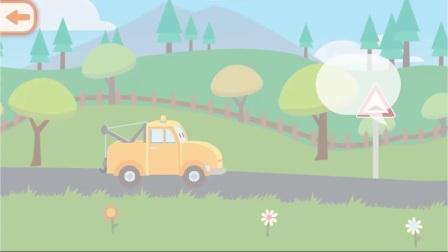小拖车在广场欢乐的踢足球,有趣的足球梦,为了身体健康,多运动