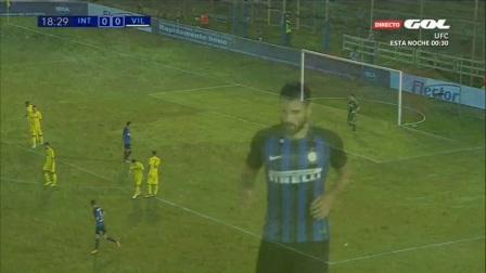 Inter vs Villarreal Highlights