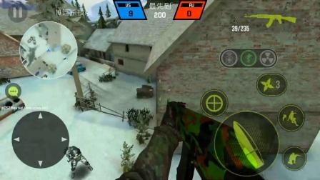 【子弹力量】地图:村庄  上雪山bug