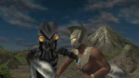 """奥特曼格斗进化重生——小魔;""""这光线技能简直亮瞎我眼睛!"""""""