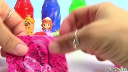 超级有趣的彩虹粘液玩具,你喜欢吗,快来动手玩吧