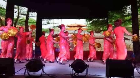 火火中国风(联星西许姐妹合体舞蹈队---精彩演义)2017年8月