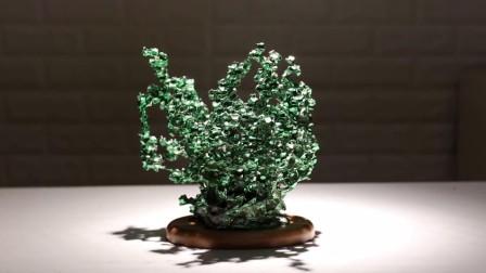 墨彩烧出品-多彩金属珊瑚