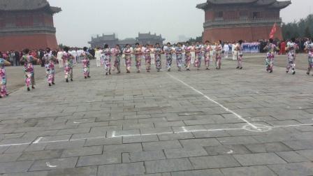 巩义市旗袍协会参加【2016重阳节活动】